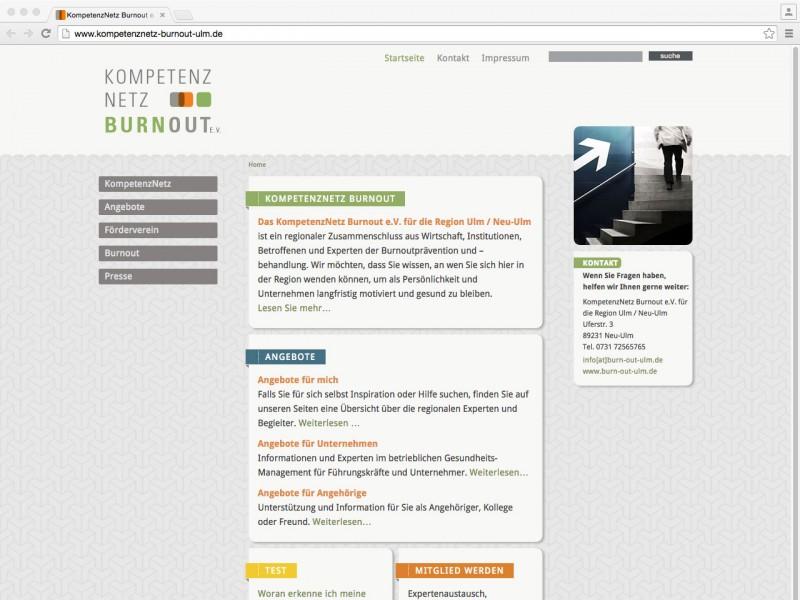 Das KompetenzNetz Burnout e.V. für die Region Ulm / Neu-Ulm